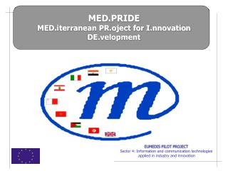 EUMEDIS PILOT PROJECT Sector 4: Information and communication technologies