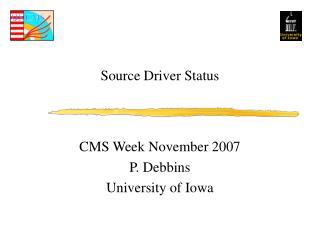 Source Driver Status