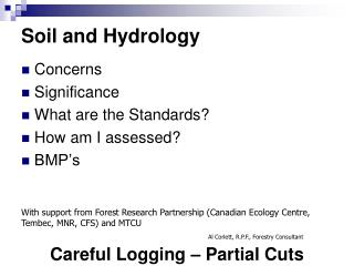 Soil and Hydrology