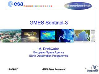 GMES Sentinel-3