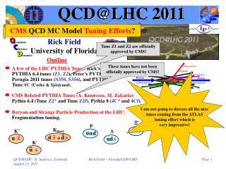 QCD@LHC 2011