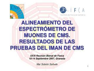 ALINEAMIENTO DEL ESPECTRÓMETRO DE MUONES DE CMS.  RESULTADOS DE LAS PRUEBAS DEL IMAN DE CMS