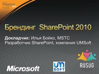 Брендинг   SharePoint 2010