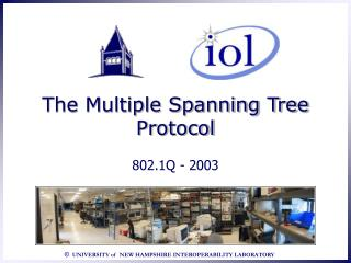 The Multiple Spanning Tree Protocol