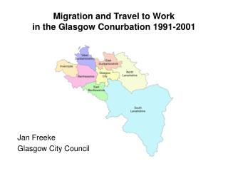 Migration and Travel to Work in the Glasgow Conurbation 1991-2001