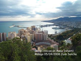 Casos clínicos en Asma Infantil  Málaga 05/04/2008 Juan Sancha