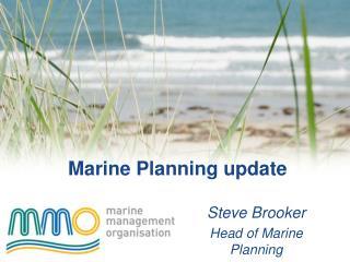 Marine Planning update