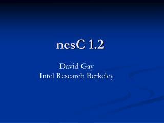 nesC 1.2