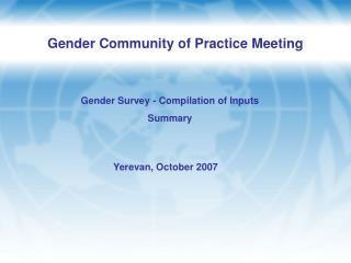 Yerevan, October 2007