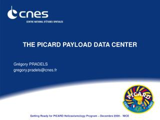 THE PICARD PAYLOAD DATA CENTER