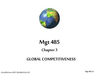 Mgt 485 Chapter 3