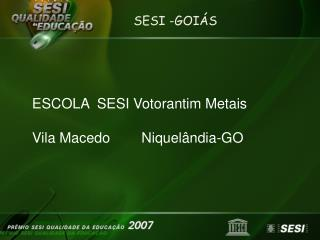 SESI -GOIÁS