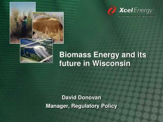 Biomass Energy and its future in Wisconsin