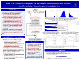 Novel FDR Estimation for  PepArML  – A Meta-Search Peptide Identification Platform