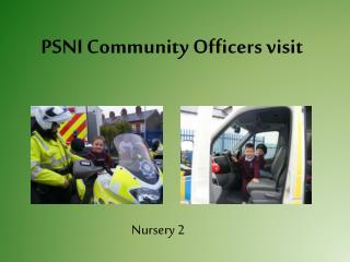 PSNI Community Officers visit