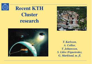Recent KTH  Cluster research