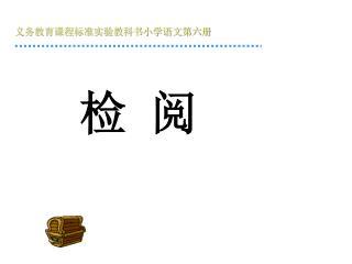 义务教育课程标准实验教科书小学语文第六册