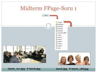 Midterm FPage-Soru 1