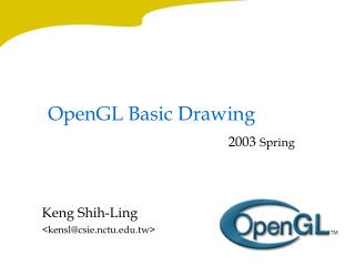 OpenGL Basic Drawing