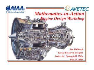 Mathematics-in-Action Engine Design Workshop