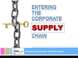 Pioneering Business Transformation