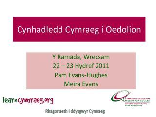 Cynhadledd Cymraeg i Oedolion