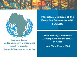 Interactive Dialogue of the Executive Secretaries with ECOSOC