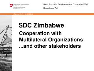 SDC Zimbabwe