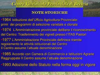 Centro Vitivinicolo Provinciale di Brescia