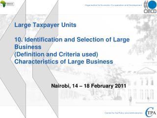 Nairobi, 14 – 18 February 2011