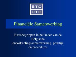 Financi�le Samenwerking