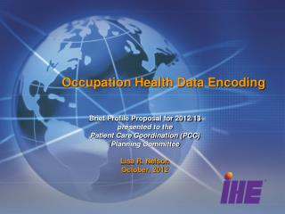 Occupation Health Data Encoding