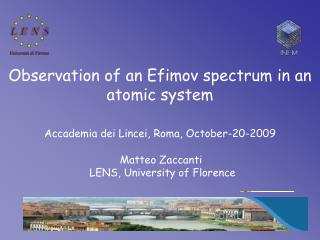Observation of an Efimov spectrum in an atomic system