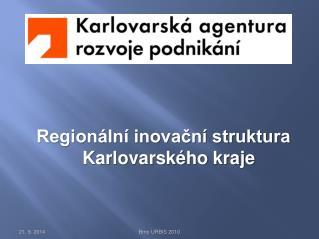 Regionální inovační struktura Karlovarského kraje