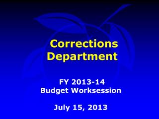 Corrections Department