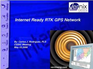 Internet Ready RTK GPS Network