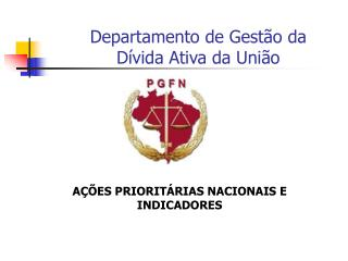Departamento de Gestão da  Dívida Ativa da União