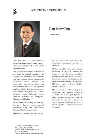 Tian-Pouw  Pun