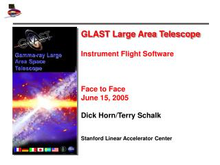 GLAST Large Area Telescope Instrument Flight Software  Face to Face June 15, 2005
