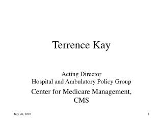 Terrence Kay