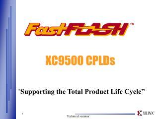 XC9500 CPLDs