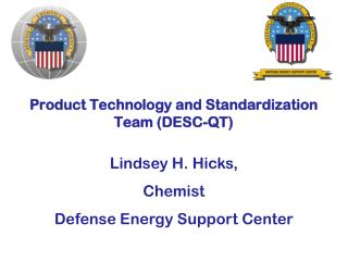 Product Technology and Standardization Team (DESC-QT)