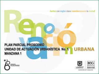 SECRETARÍA DISTRITAL DE PLANEACIÓN  Subsecretaría de Planeación Territorial