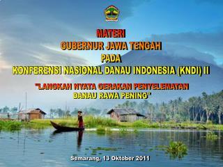 Semarang, 13 Oktober 2011