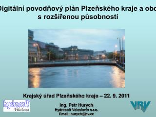Digitální povodňový plán Plzeňského kraje a obcí s rozšířenou působností