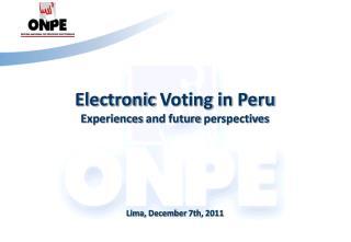 Lima,  December  7th, 2011