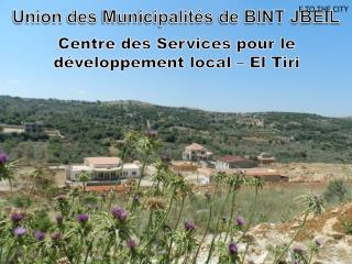 Centre  des  Services pour le  développement local  –  El  Tiri