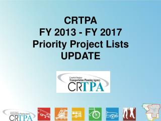 CRTPA FY 2013 - FY 2017 Priority Project Lists UPDATE