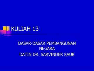 KULIAH 13