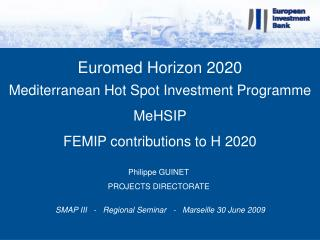 Euromed Horizon 2020